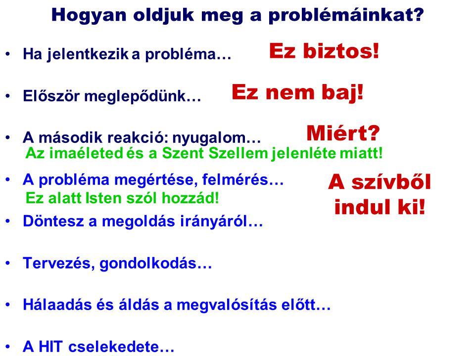 Hogyan oldjuk meg a problémáinkat