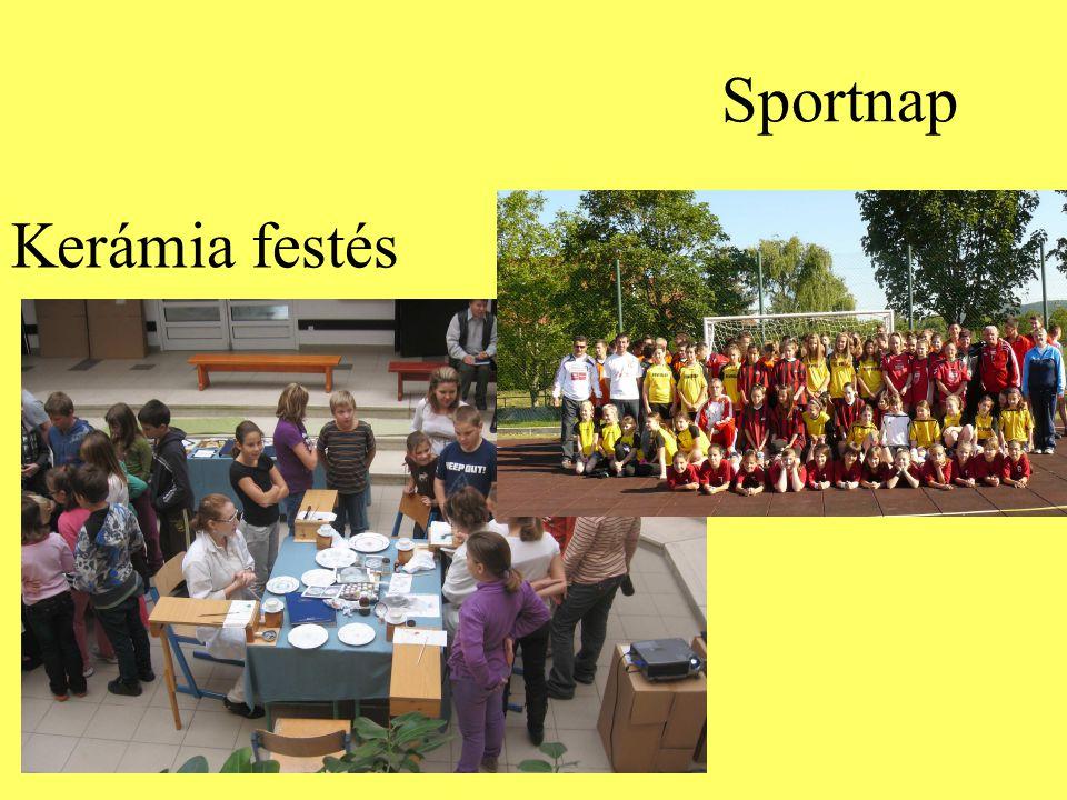 Sportnap Kerámia festés
