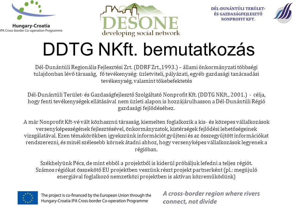 DDTG NKft. bemutatkozás