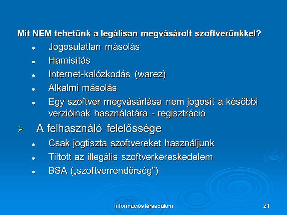 Információs társadalom