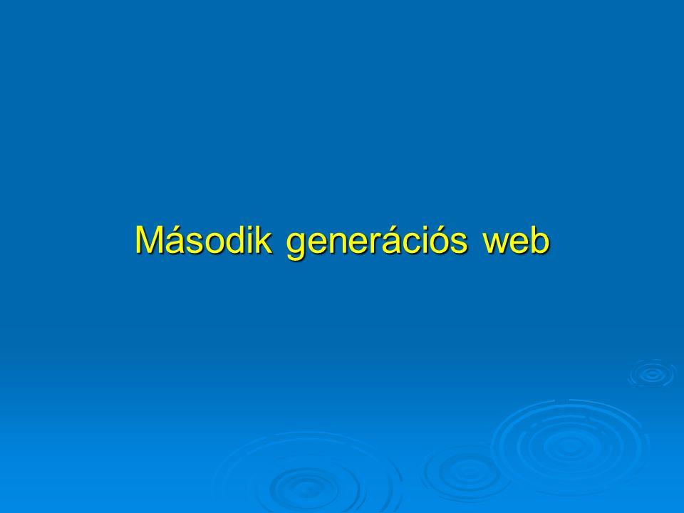 Második generációs web