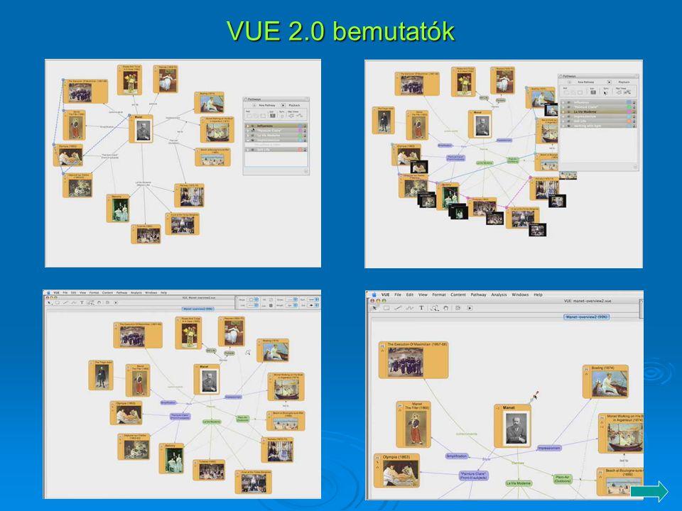 VUE 2.0 bemutatók