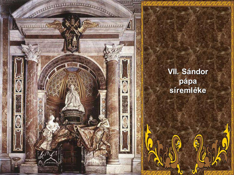 VII. Sándor pápa síremléke