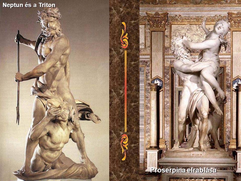 Neptun és a Triton Proserpina elrablása