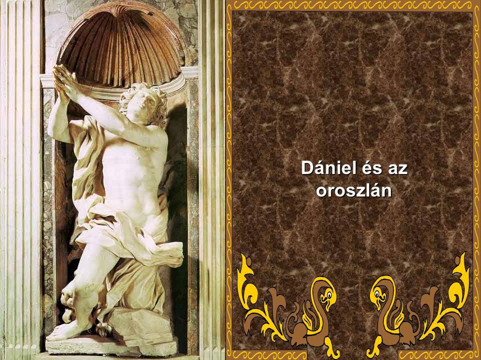 Dániel és az oroszlán