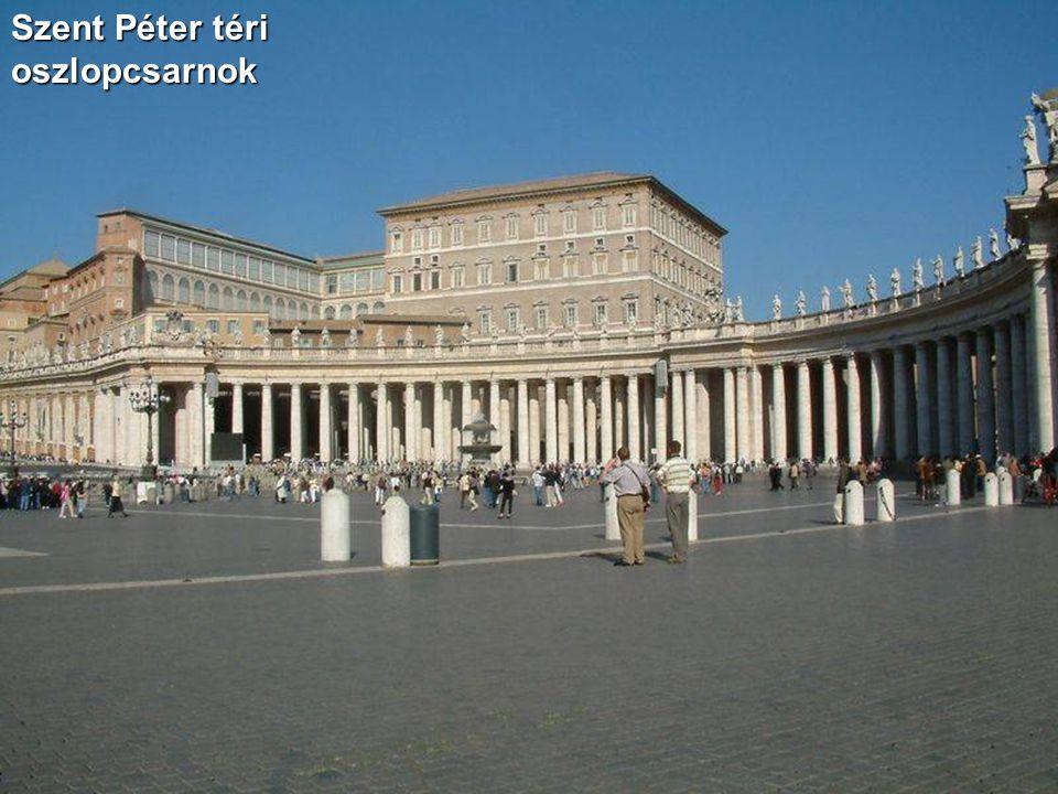 Szent Péter téri oszlopcsarnok