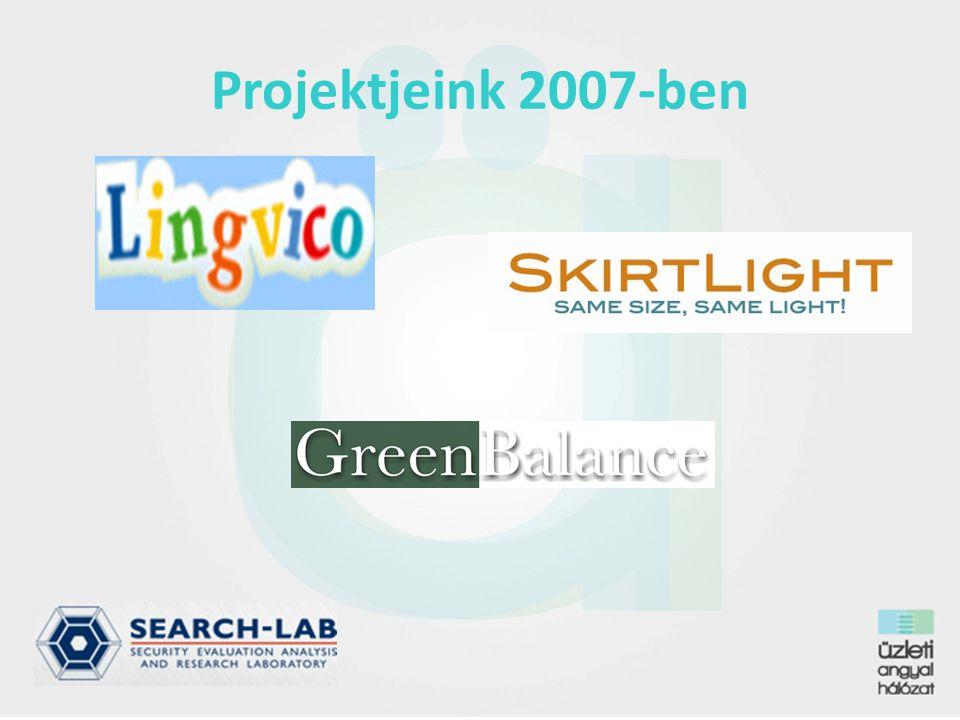 Projektjeink 2007-ben