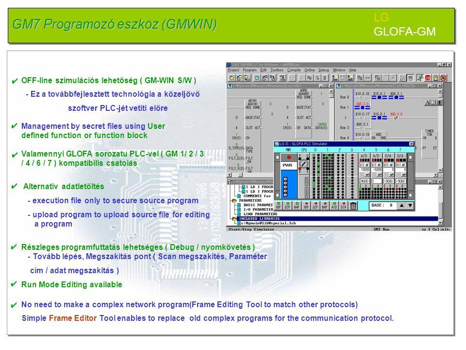 GM7 Programozó eszköz (GMWIN)