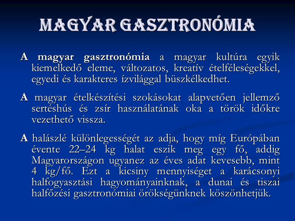 Magyar gasztronómia