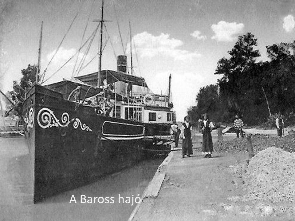 A Baross hajó