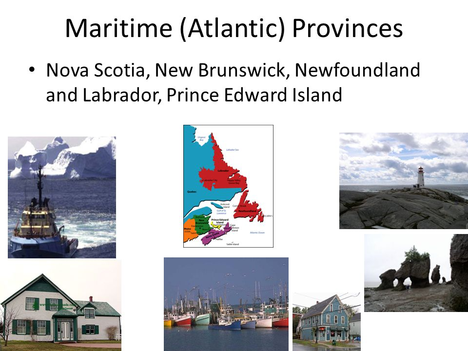 Maritime (Atlantic) Provinces