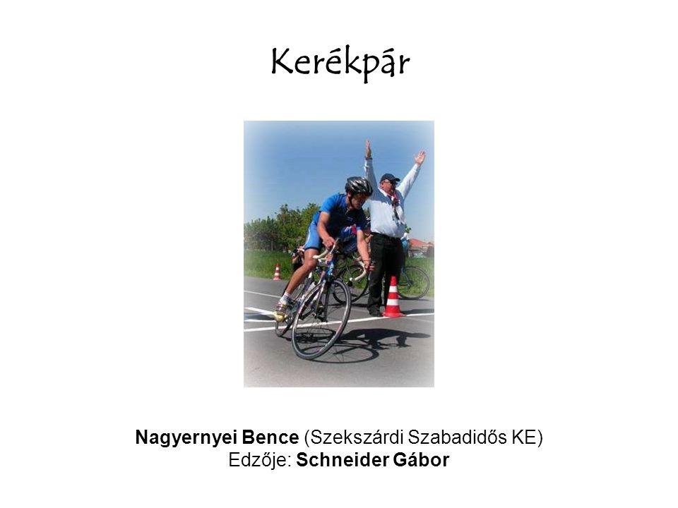 Kerékpár Nagyernyei Bence (Szekszárdi Szabadidős KE)