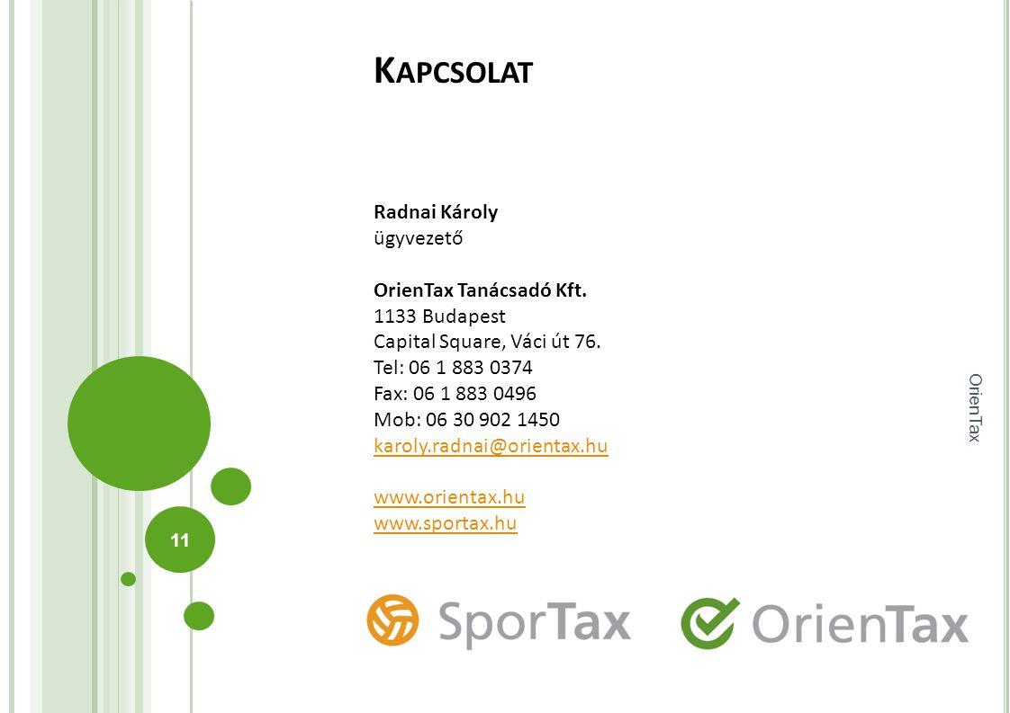 Kapcsolat OrienTax. Bitte verwenden Sie die gleiche Grafik oder das gleiche Bild innerhalb des Beams, wie im Beam des Titelslides der Präsentation.