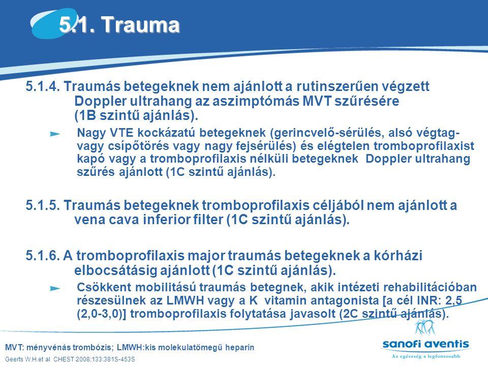 5.1. Trauma