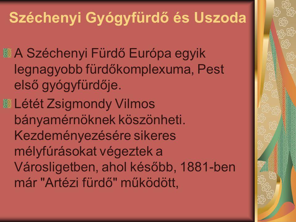 Széchenyi Gyógyfürdő és Uszoda