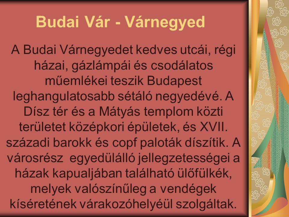 Budai Vár - Várnegyed