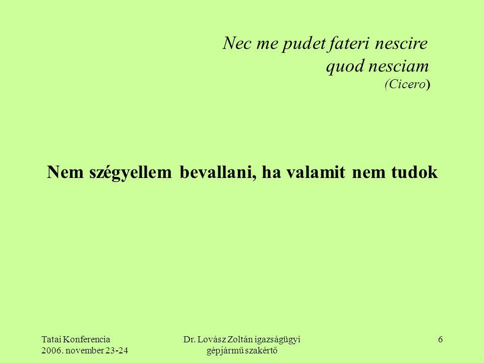 Dr. Lovász Zoltán igazságügyi gépjármű szakértő