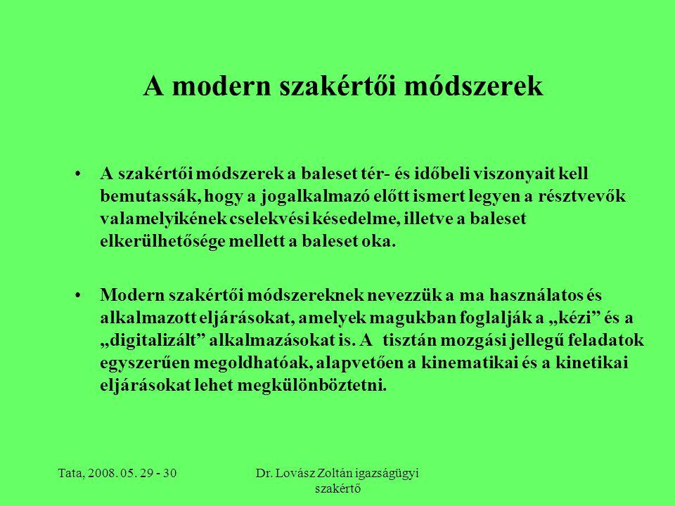 A modern szakértői módszerek