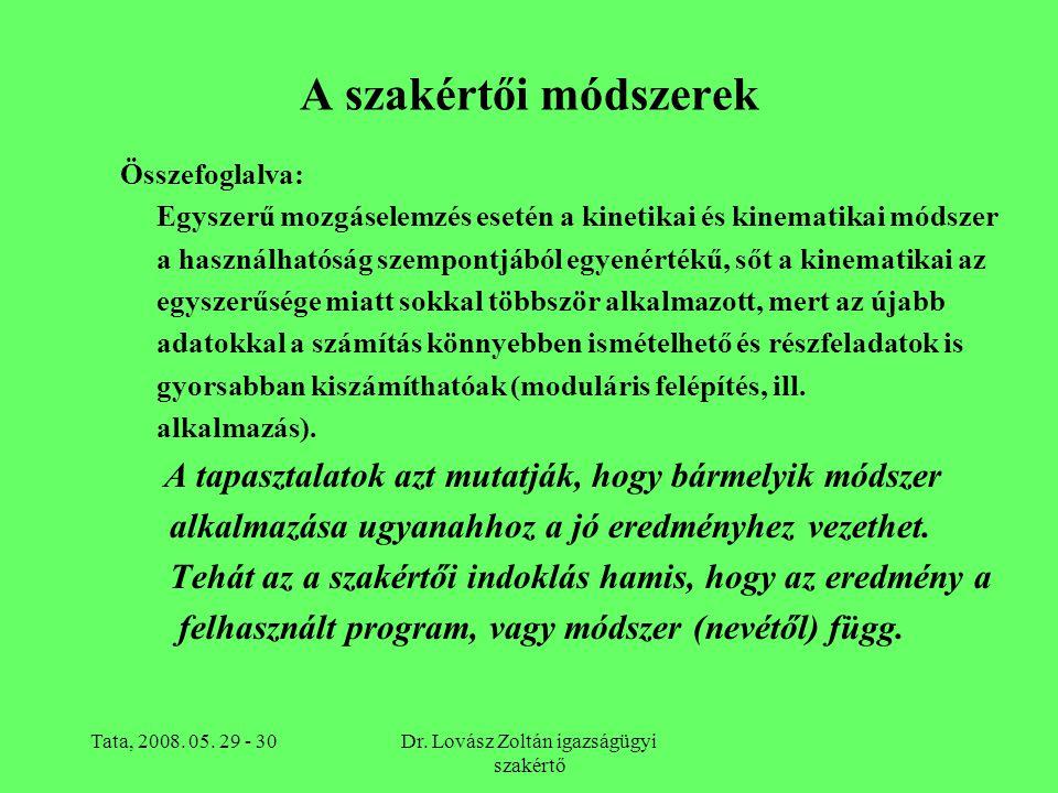 Dr. Lovász Zoltán igazságügyi szakértő