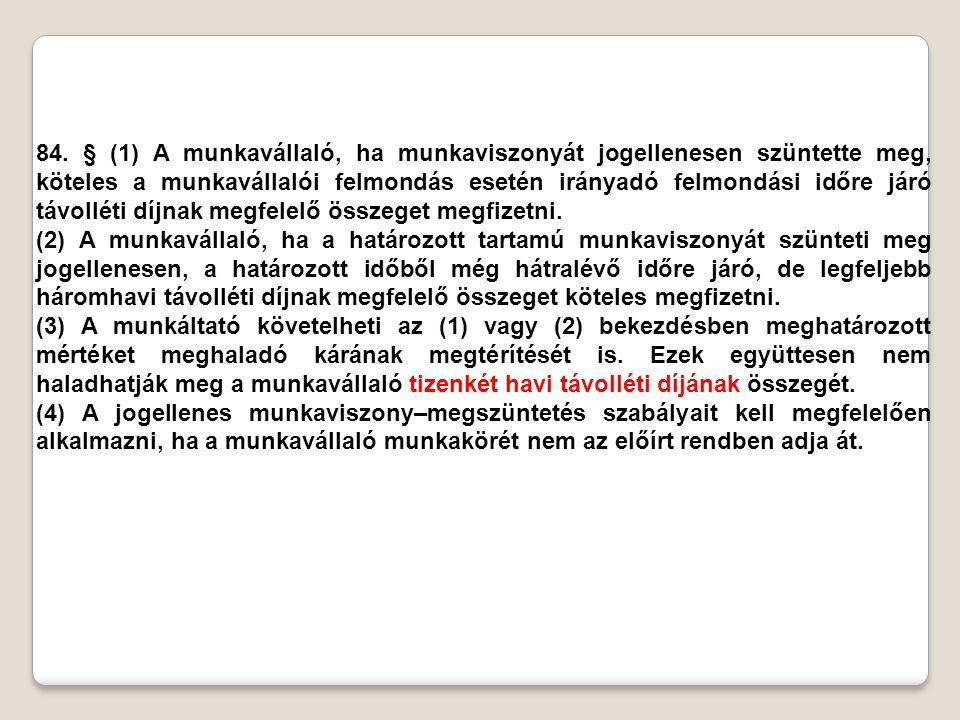 ELJÁRÁS A MUNKAVISZONY MEGSZŰNÉSE ESETÉN