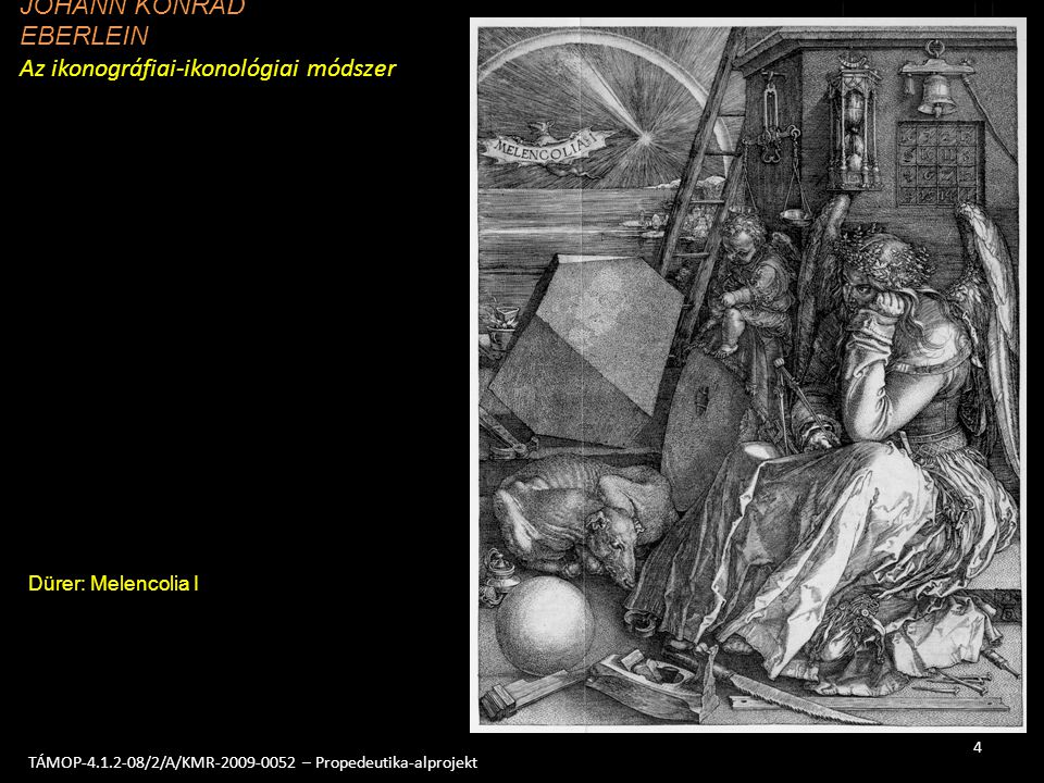 EBERLEIN Az ikonográfiai-ikonológiai módszer