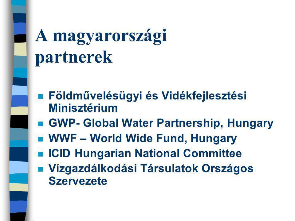 A magyarországi partnerek