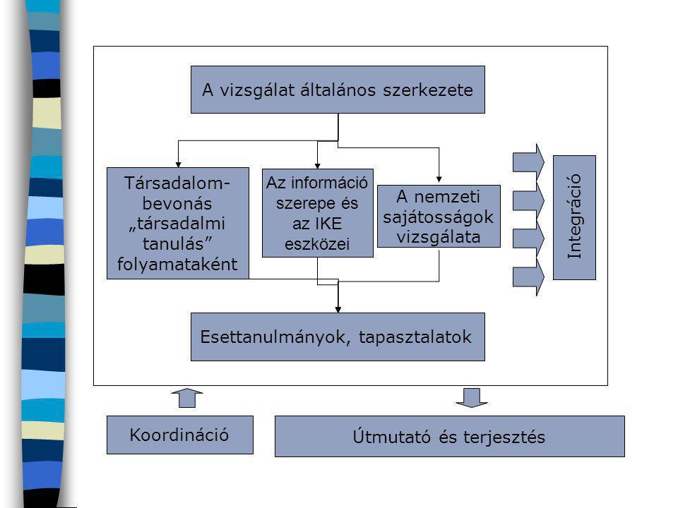 A vizsgálat általános szerkezete