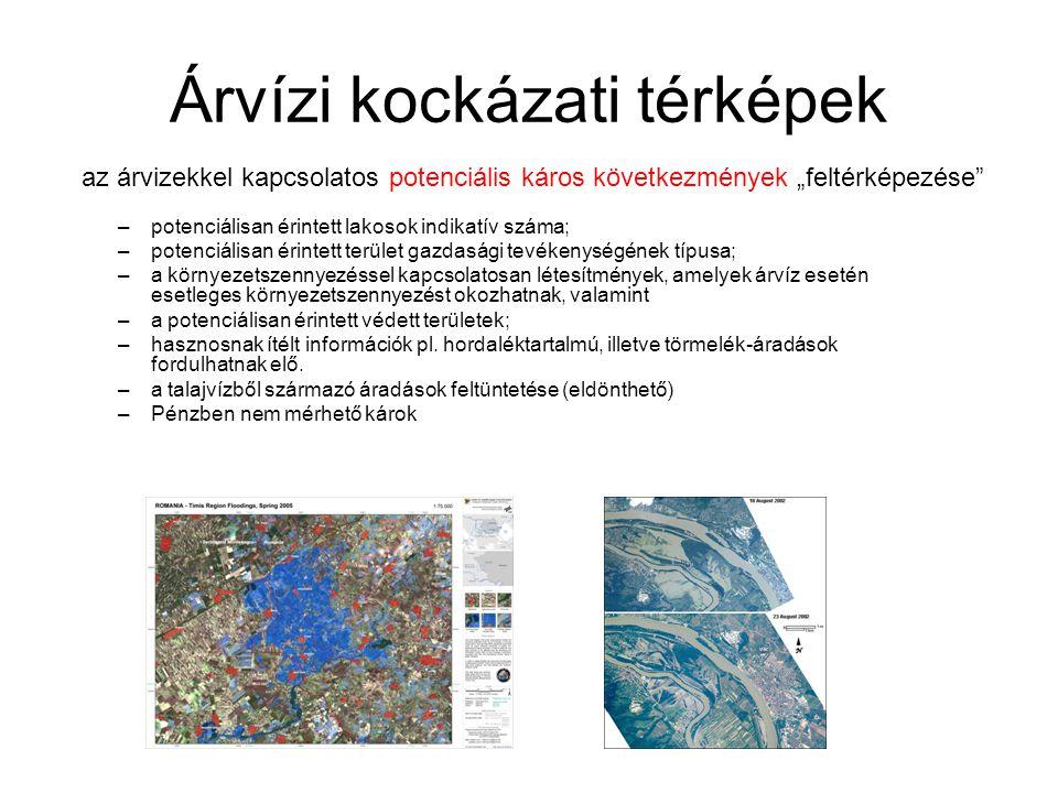 Árvízi kockázati térképek