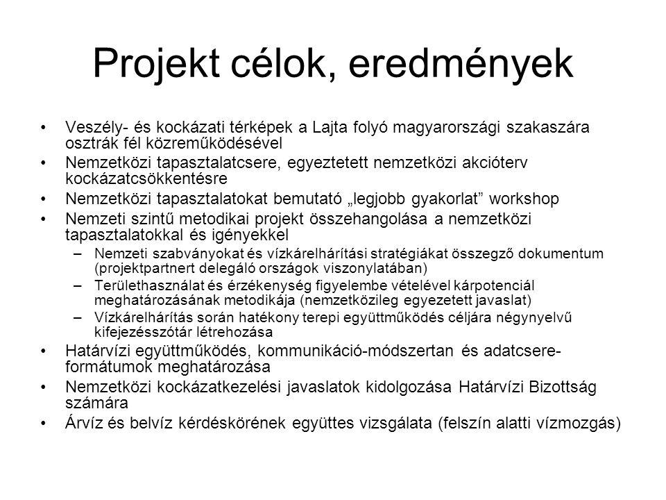 Projekt célok, eredmények