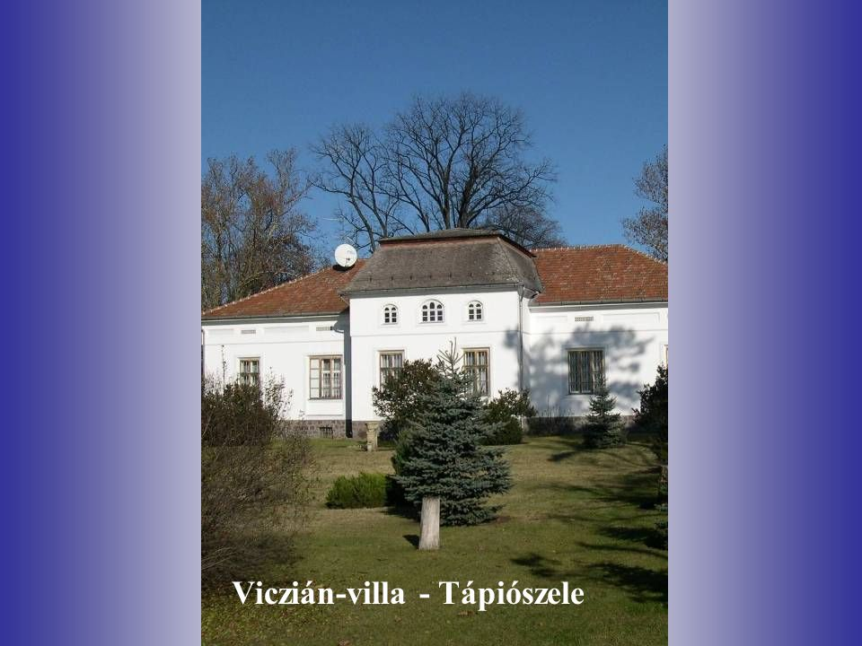 Viczián-villa - Tápiószele