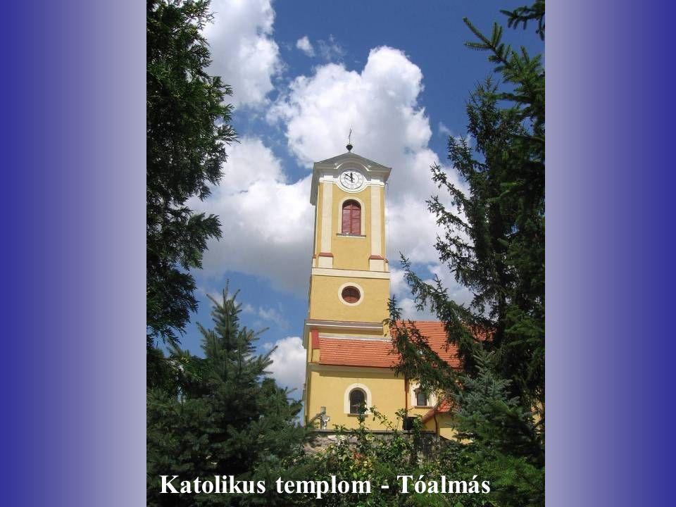 Katolikus templom - Tóalmás