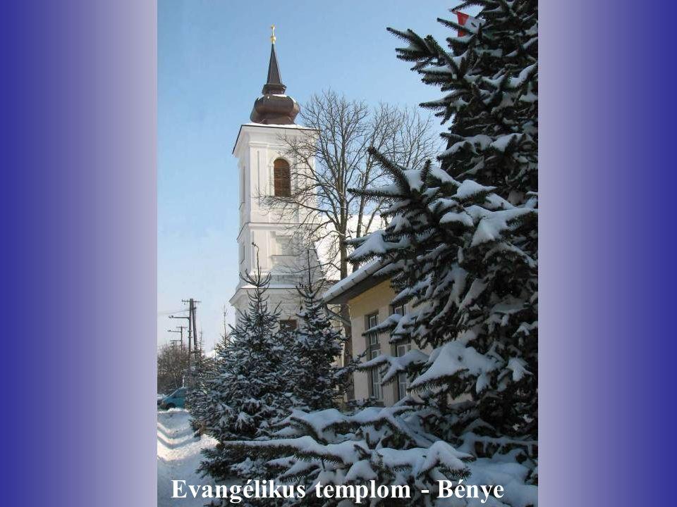 Evangélikus templom - Bénye