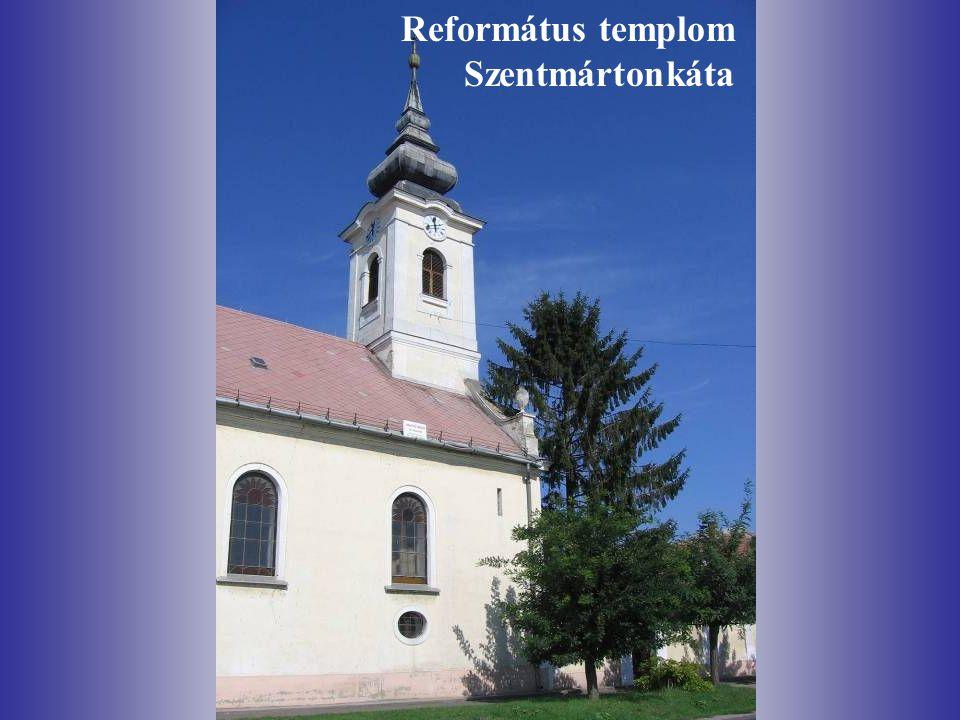 Református templom Szentmártonkáta