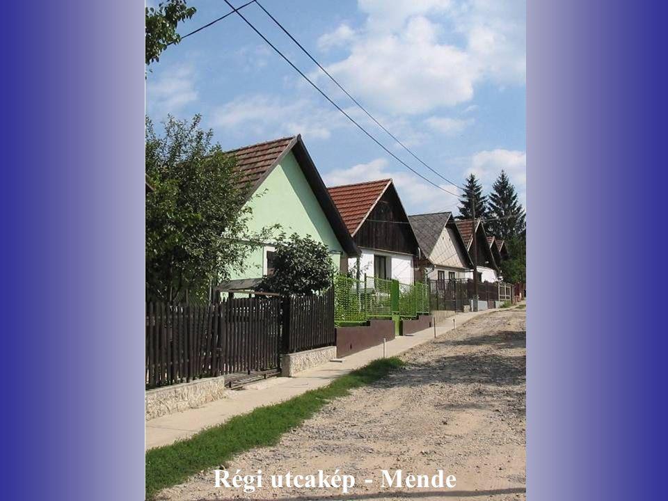 Régi utcakép - Mende