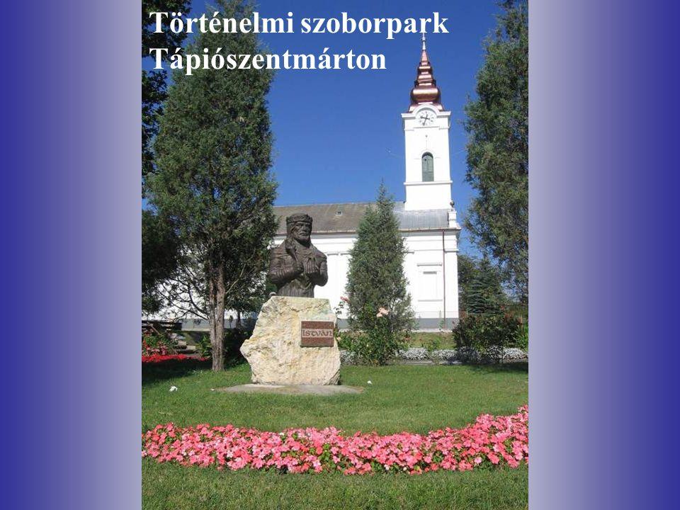 Történelmi szoborpark Tápiószentmárton