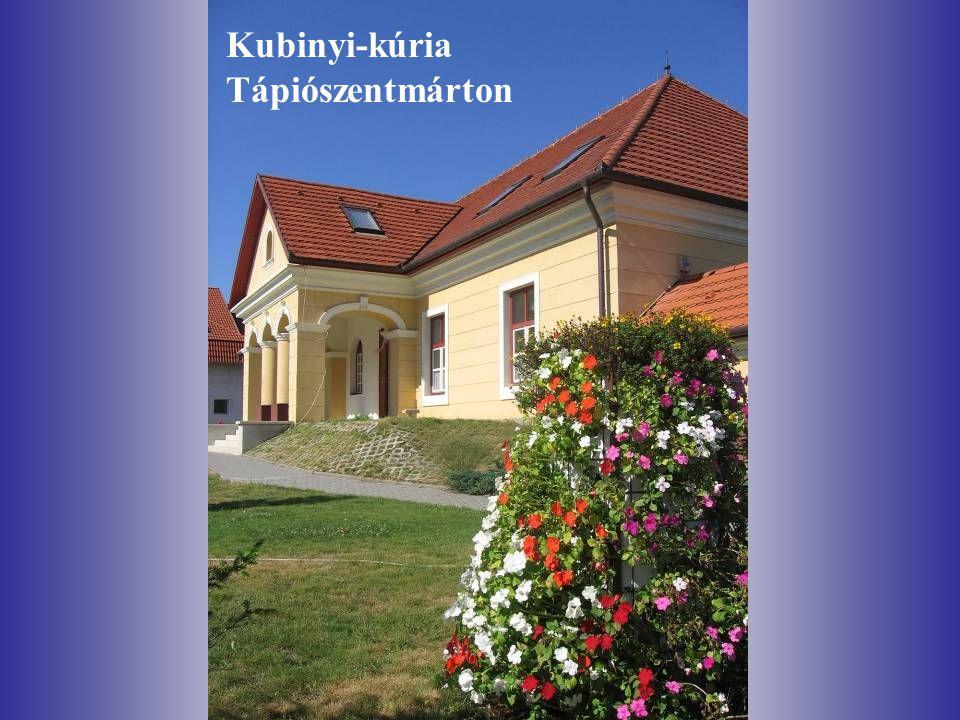 Kubinyi-kúria Tápiószentmárton