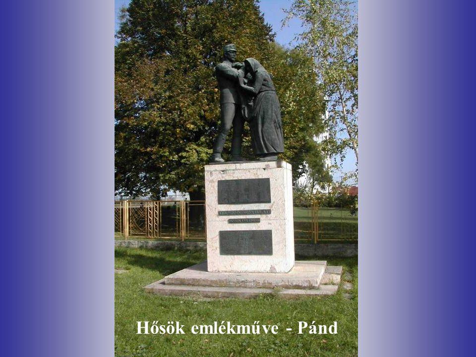 Hősök emlékműve - Pánd
