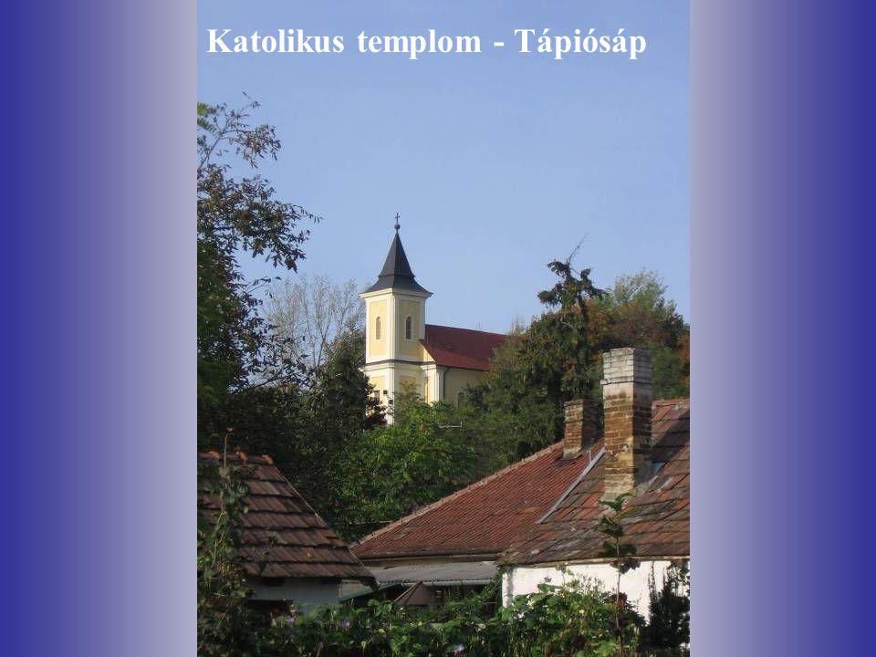 Katolikus templom - Tápiósáp
