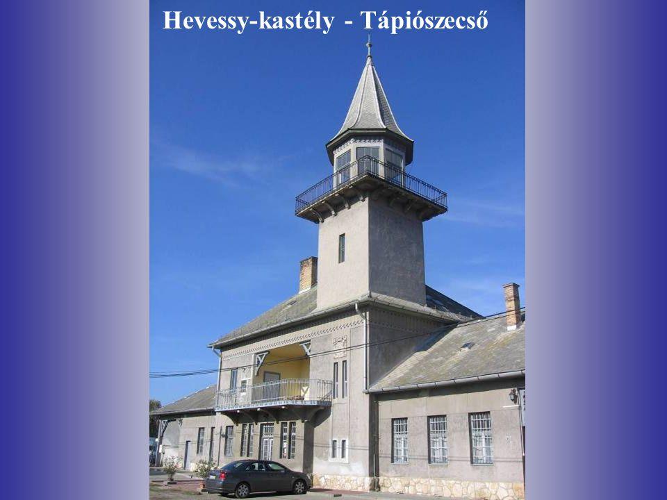 Hevessy-kastély - Tápiószecső