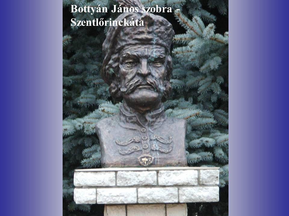 Bottyán János szobra - Szentlőrinckáta