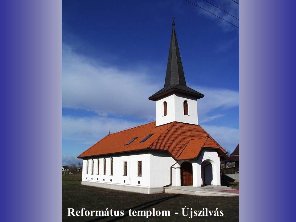 Református templom - Újszilvás