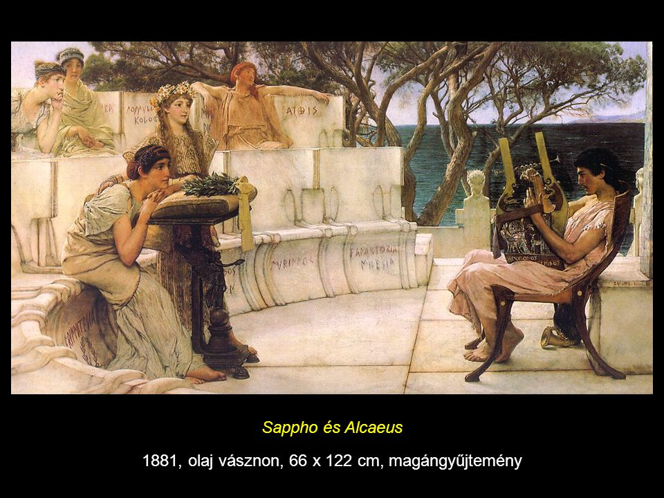 1881, olaj vásznon, 66 x 122 cm, magángyűjtemény