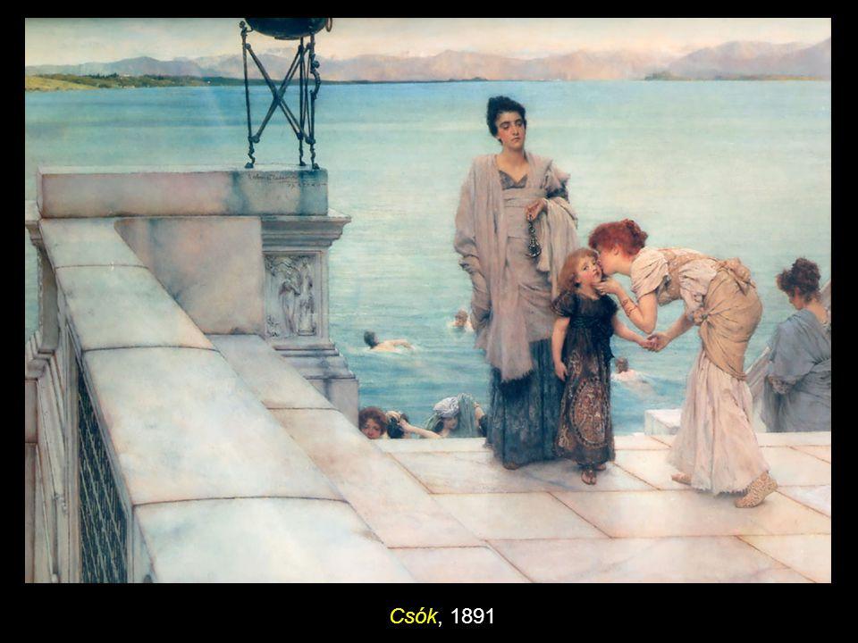 Csók, 1891