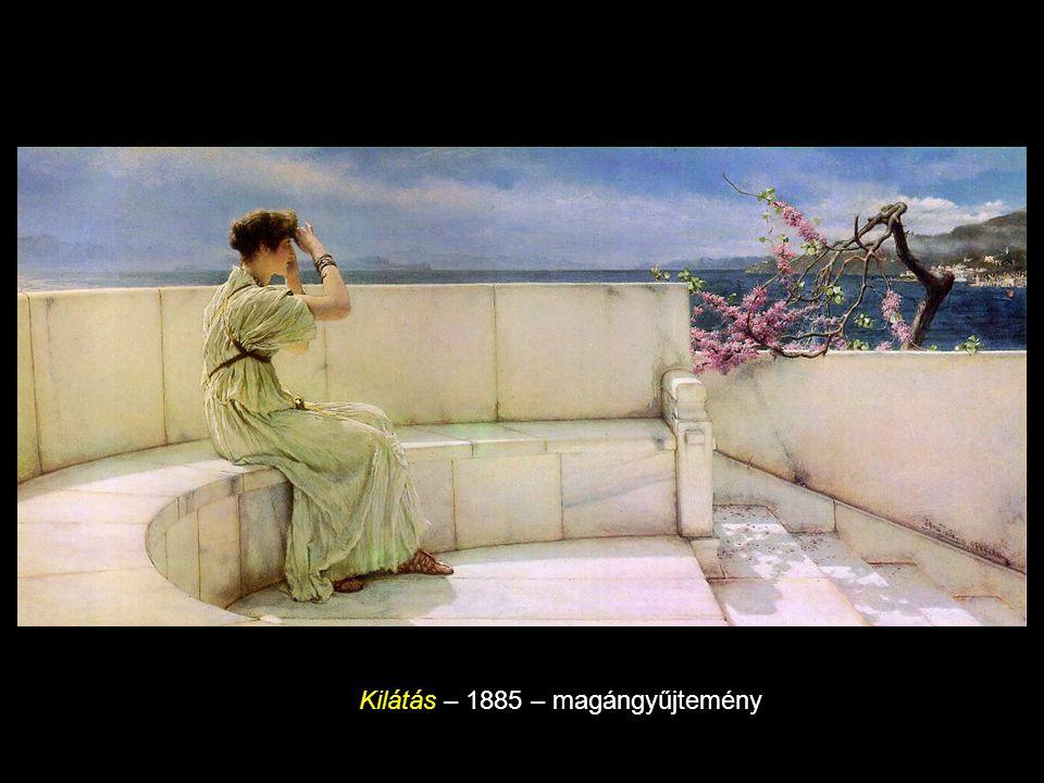 Kilátás – 1885 – magángyűjtemény