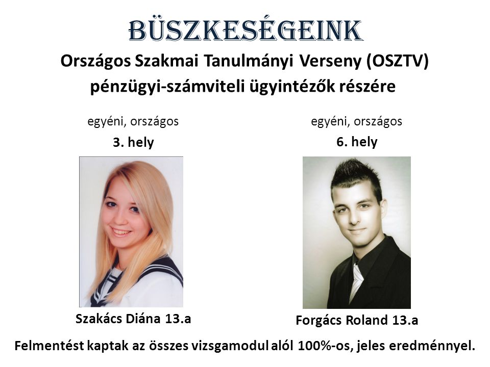 Országos Szakmai Tanulmányi Verseny (OSZTV)