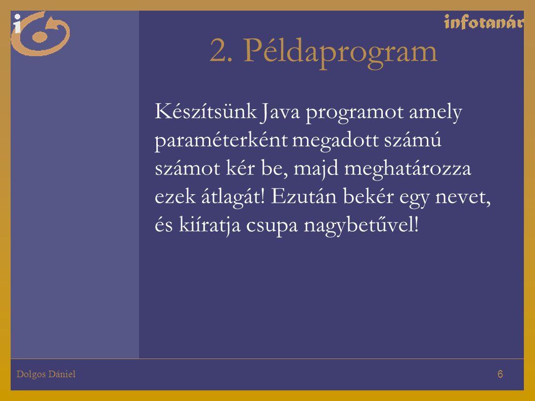 2. Példaprogram