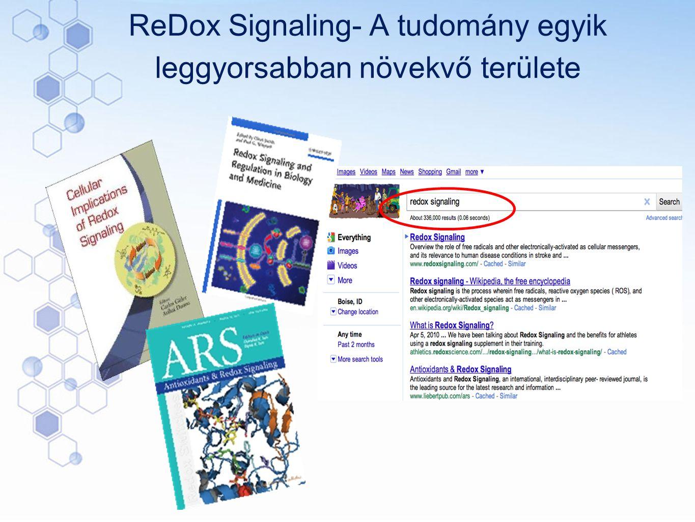 ReDox Signaling- A tudomány egyik leggyorsabban növekvő területe