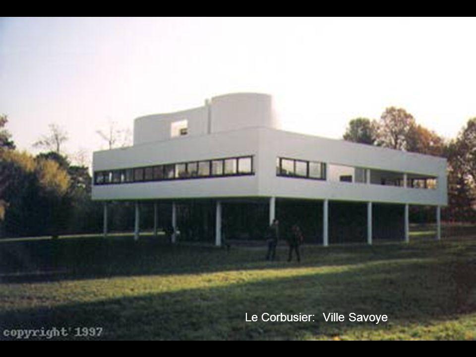 Le Corbusier: Ville Savoye
