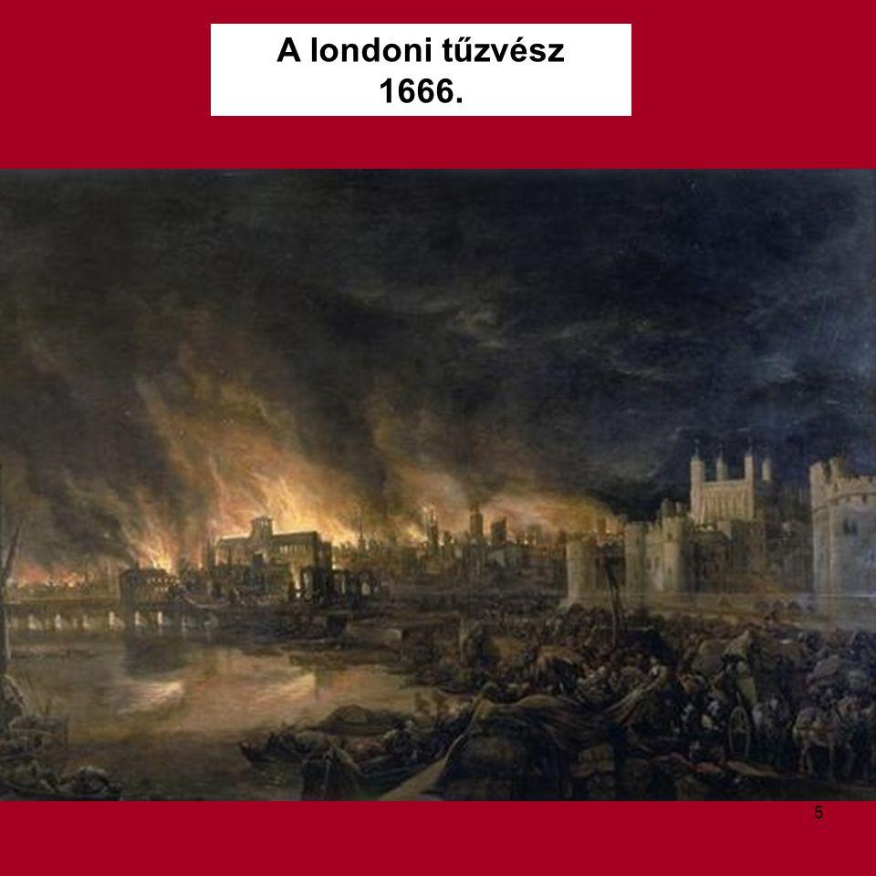 A londoni tűzvész 1666.