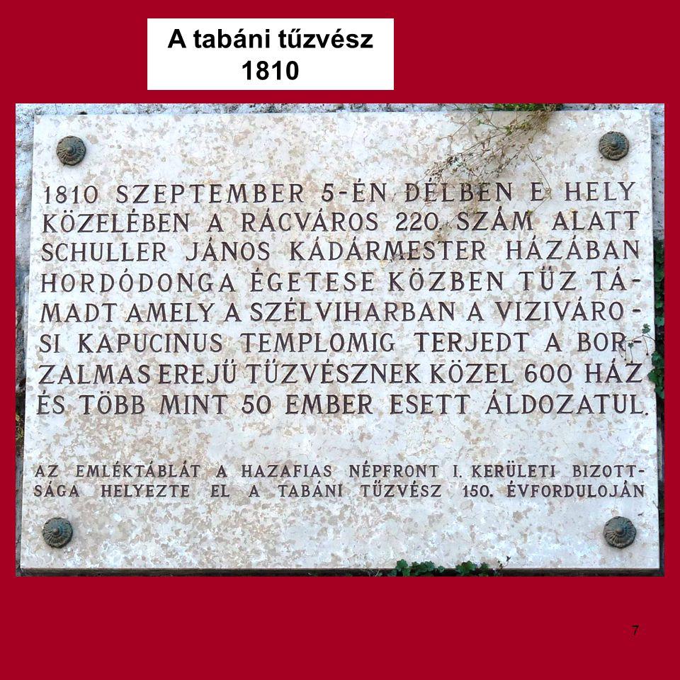 A tabáni tűzvész 1810